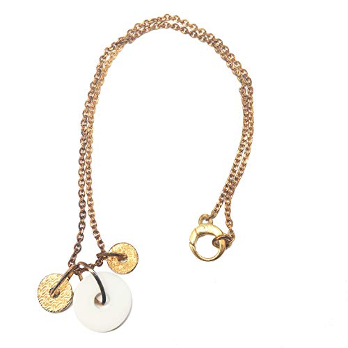 Guess Necklace CWN10906 Women's Rose Gold, White