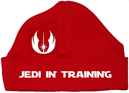 Jedi in Training bébé Bonnet Chapeau/Bonnet 0 à 12 mois, Rouge, 6-12 mois