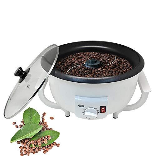 HJKH Cafetera con Molinillo Frijoles 800W del hogar de café de Panadero Máquina tostadores de café de la máquina (Color : Blanco, tamaño : Un tamaño)