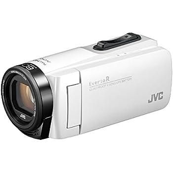 JVCKENWOOD JVC ビデオカメラ Everio R 防水 防塵 32GB内蔵メモリー シャインホワイト GZ-R480-W