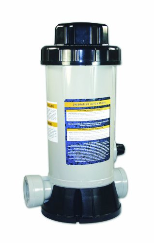 HydroTools by Swimline Premium In-Line Above-Ground Pool Automatic Chlorine Feeder