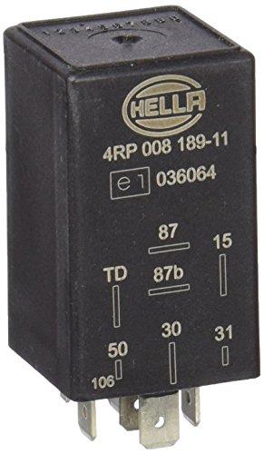 HELLA 4RP 008 189-111 Relé, bomba de combustible - 12V - 7polos