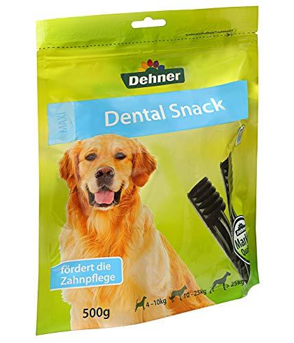 Dehner hondennack Dental Sticks Maxi, voor honden vanaf 25 kg, 500 g