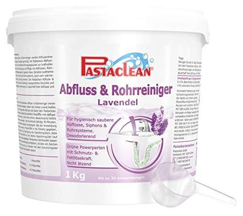 Abfluss- und Rohr-Reiniger, Pulver mit Lavendel-Duft, 1 kg