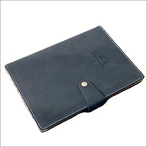 Cuadernos De Hojas Sueltas portátil, Papel Premium Grueso Diario, Tapa Dura de la Piel Diario, Disponibles, for la Oficina Home School blocs de Notas (Color : Black)