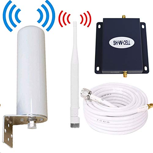 Verizon Cell Phone Signal Booster 4G LTE Band13 FDD 700Mhz Cell Phone Booster Verizon Cell Signal Booster Repeater Signal Amplifier SHWCELL Mobile Phone Signal Booster with Whip/Omni Antennas Kits