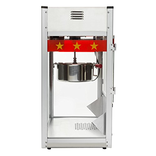 Product Image 4: Olde Midway Commercial Popcorn Machine Maker Popper with Large 12-Ounce Kettle – Red