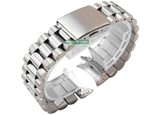 Presidente de acero inoxidable sólido pulsera de repuesto para bell-matic 4006–7001