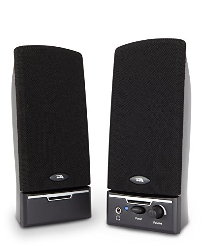 Cyber Acoustics 2.0 Amplified Speaker System