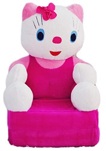 Bambi Poltrona, poltroncina apribile, divanetto per bambini in morbido peluche. Divano e giocattolo Hello Kitty