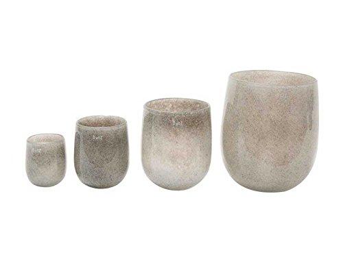 Vase Dutz BARREL, new grey (H24 D18,5)