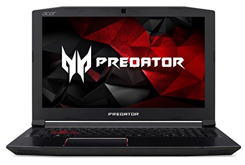 "Acer Predator Helios 300 Gaming Laptop, Intel Core i7, GeForce GTX 1060, 15.6"" Full HD, 16GB DDR4, 256GB SSD, 1TB HDD, G3-572-7526"