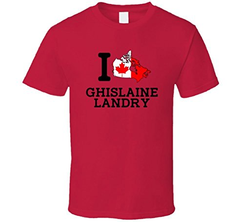 Vita Dominic I Love Ghislaine Landry Canada Rugby Olympics T Shirt Medium