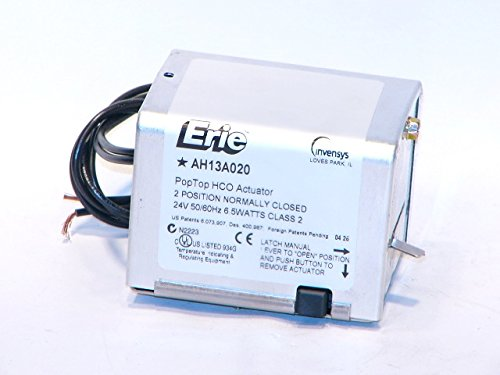 Schneider Electric AH13A020 Tac Erie Spring Return Two-Position High Close-Off Actuator Without End Switch, Normally Closed