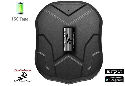 Simmotrade® TKSTAR 905B GPS KFZ Tracker Neu jetzt mit 150 Tage Standby, der perfekte Diebstahlschutz für Ihr Fahrzeug, einschl. M2M SIM Karte