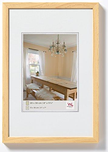 walther design BP130K Peppers Bilderrahmen, Holz, 21 x 29,7 cm, kiefer