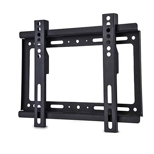 Wandhalterung für Fernseher, Universal Ultra Slim Tilting TV Wandhalterung für die meisten 14-40 Zoll LED, LCD Perfekt für die Eckmontage