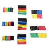 ARCELI 328 Set di tubi termorestringenti per PC, SIM e NAT Ratio 2: 1 Set di tubi isolanti per guaine termorestringenti isolati termicamente (8 formati / 5 colori)