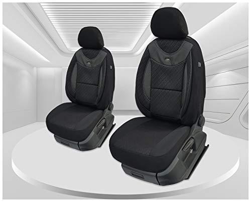 Maß Sitzbezüge kompatibel mit VW Caddy 4 Fahrer & Beifahrer ab 2015 Farbnummer: G102