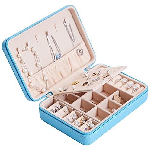Schmuckkiste Schmuck-Box for Mädchen-Frauen-Premium-Schmuck-Kasten PU-Leder verschiedenen Kompartimenten Schmuck...