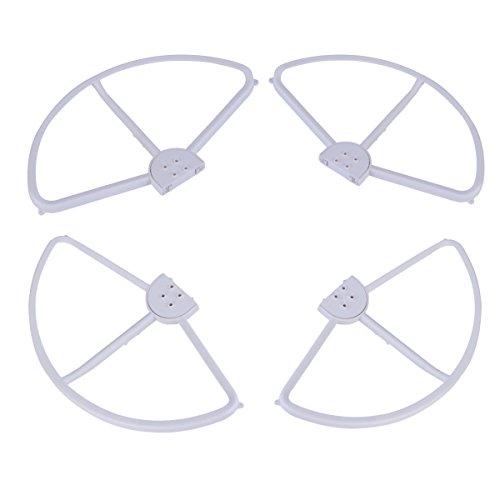 PIXNOR 4 Stück Propeller-Schutz für DJI Phantom 3 Quadcopter Luftschraube (Weiß)