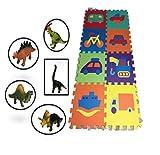 Alfombra infantil puzzle bebe suelo goma espuma eva parque juego niños foami...
