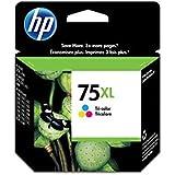 No 75Xl Genuine Hicap Tri Col Ink Retail Pkg