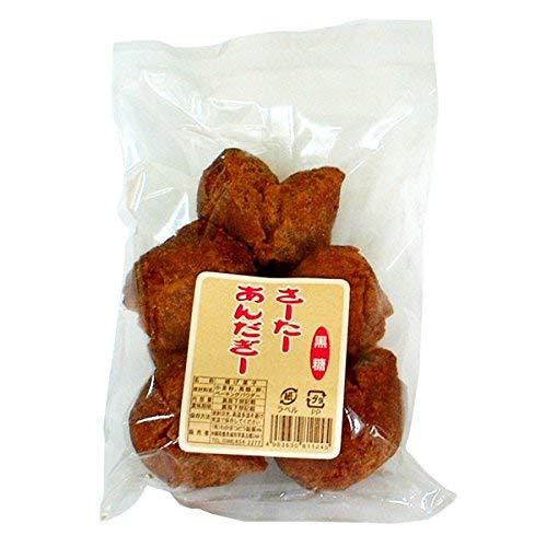 さーたーあんだぎー 黒糖 5個入×3袋 わかまつどう製菓 沖縄土産に最適 サクサク食感 おきなわ風ドーナツ