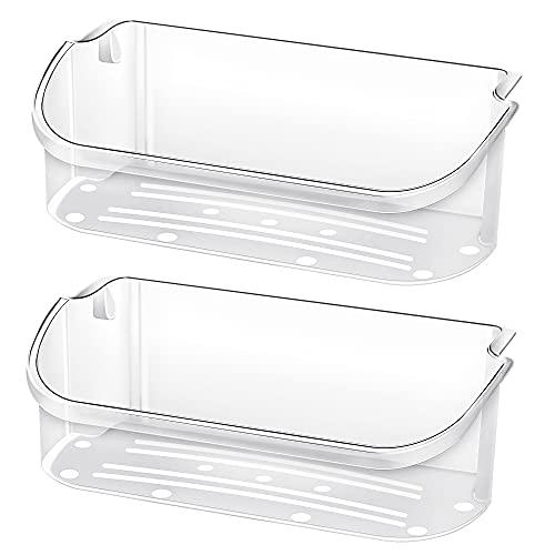 UPGRADE 2 PCS 240356402 Door Bin Replacement Shelf, Length 15.38 in,Top 2 shelves on refrigerator side, Replacement 240356401,AP2549958, Fgus2642lf2 etc