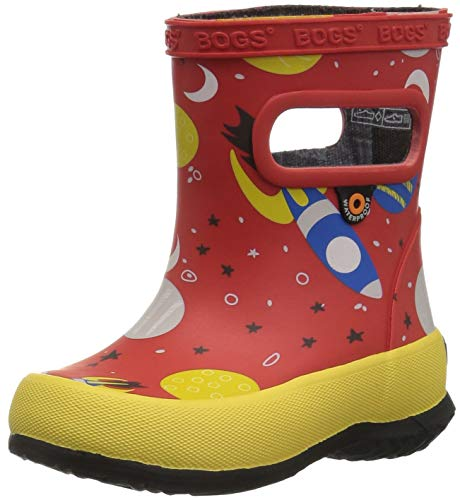 BOGS Kids' Skipper Waterproof Rubber Rain Boot for Boys...