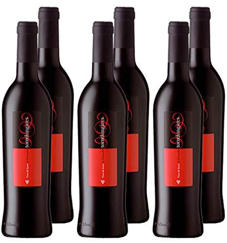 Torrelongares - Licor de Garnacha - D.O. Cariñena - Variedad 100% Garnacha - 500ml - Caja de 6 Botellas