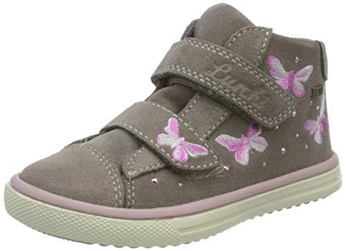 Lurchi Mädchen MARINI-TEX Sneaker, Stone, 30 EU