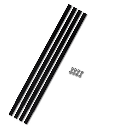 vidaXL Verlängerungsrohr 4x1m Verbindung Rohranschluss für Erdbohrer Bohrgerät