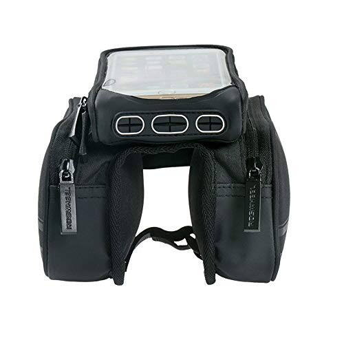 Lowest Prices! Dertyped Front Frame Top Tube Mount Handlebar Bags Bike Bag Mobile Phone Touch Screen...