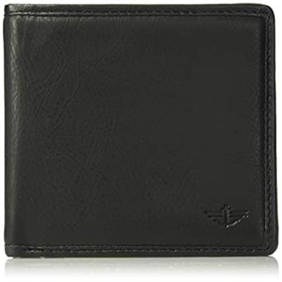 Dockers Men's RFID Blocking Extra Capacity Leather Bifold Wallet, Black casual, One Size