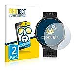 BROTECT Schutzfolie kompatibel mit Garmin Forerunner 235 (2 Stück) klare Bildschirmschutz-Folie