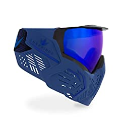 [Anti-Fog] - VIO thermal lens tech | Hi-flow ventilation | Multi-directional air exhaust zones provide 300% improved breathability [Protection] - Bounce flex zones absorb impact | Skin smooth inner shape with tight jawline profile [Comfort] - Microfi...