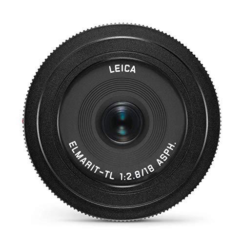 Leica Elmarit-TL 18 / f2.8 ASPH Lens (Black)