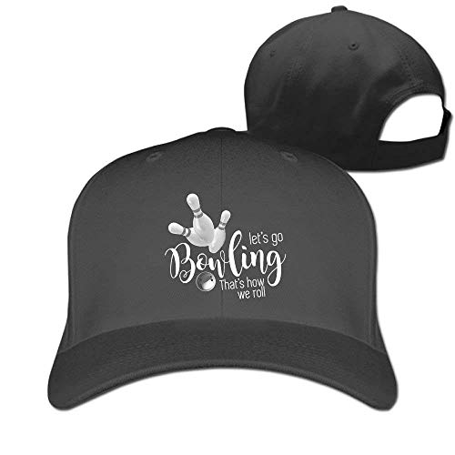 Pads bag Bowling Sport Unisex Running Hat & Cap Black