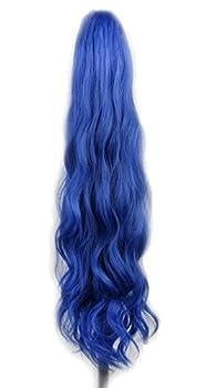 Best blue ponytail wig Reviews
