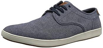 Steve Madden mens Fenta Fashion Sneaker Blue Fabric 11.5 US