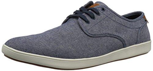 Steve Madden Men's Fenta Fashion Sneaker, Blue Fabric, 10.5 M US
