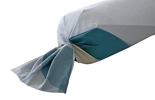 Anne de Solene ASLOPTITI7 Taie d'oreiller Coton Bleu 65 x 65 cm