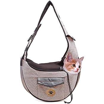 MQFORU - Sac à bandoulière pliable pour chien ou chat