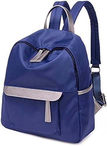 Édition coréenne tissu Oxford occasionnels Sac à dos mini sac en toile de nylon sac à dos sac d'épaule, étudiant bleu