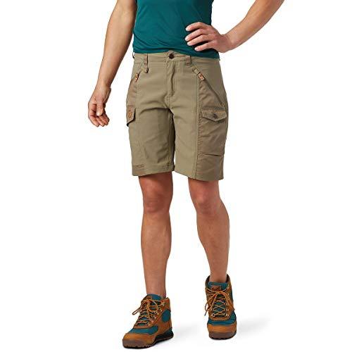 FJALLRAVEN Damen Nikka Shorts Curved W Hose, Olivgrün hell, 36