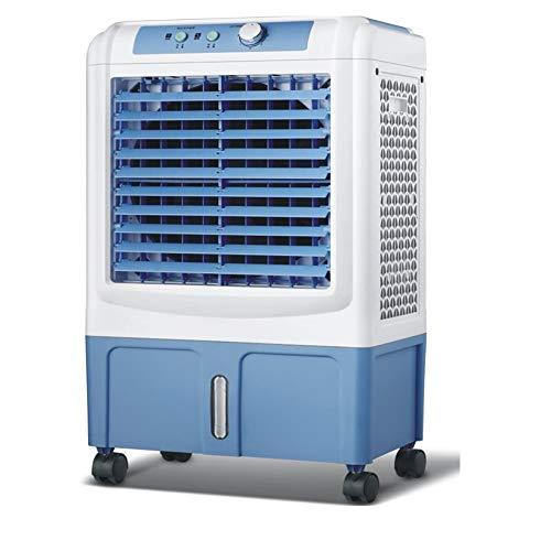 Aire acondicionado portátil Ventilador Refrigerador de aire, ventilador de aire acondicionado móvil Aire acondicionado refrigerado por agua con deshumidificador Enfriadores...