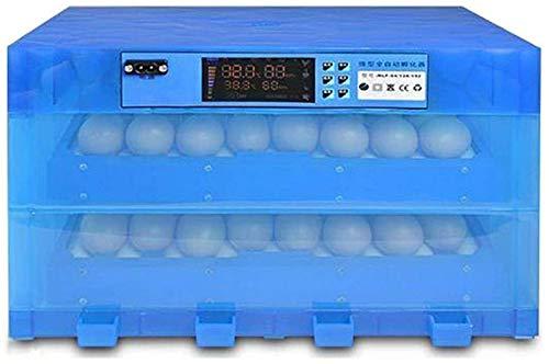 ZJWN Incubadoras de Huevos Automaticas, Incubadora de Huevos Máquina con Giro automático de Huevos, para Pollos, Patos, Gansos en casa,128 Eggs