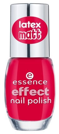 Essence effect nail polish latex matt, vernis à ongles de couleur n°36 styled for red carpet !, 10 ml, 0.33 fl.oz