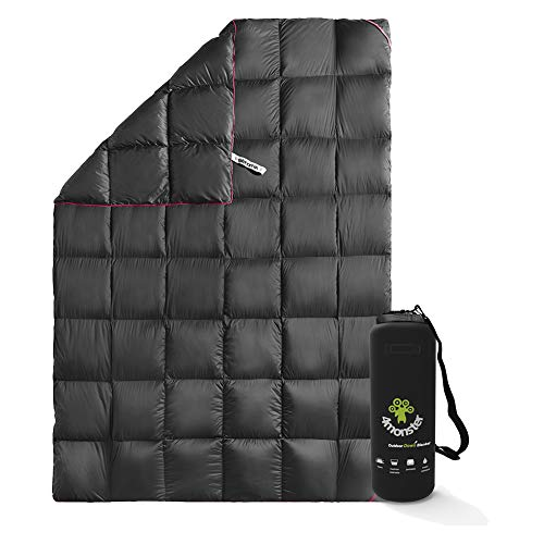 4Monster Down Blanket lightweight, Compact Outdoor Camping...